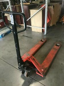 Mighty Lift Ml55 5500 Lb Load Pallet Jack 27 W X 48 L Pre owned