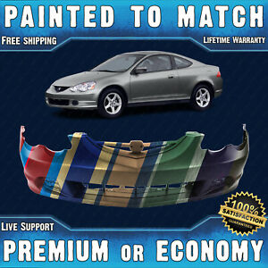 New Painted To Match Front Bumper Cover Fascia For 2002 2003 2004 Acura Rsx