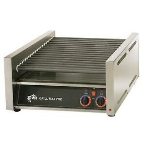 Star 50sc Grill max Pro 50 Hot Dog Roller Grill