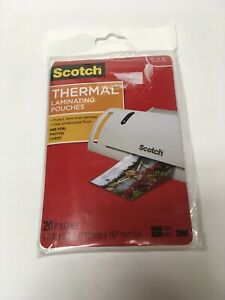 Scotch Thermal Laminating Pouches 4x6