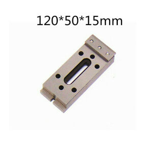 Wire Edm Fixture Board Stainless Steel Jig Tool For Clamp And Level 120x50x15mm