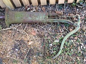 Vintage Myers Cast Iron Hand Pump Perfect For Garden