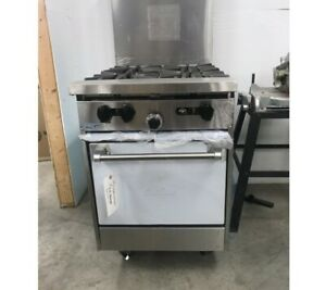Garland Sunfire Series X24 4l Natural Gas 4 Burner 24 Gas Range With Space Save
