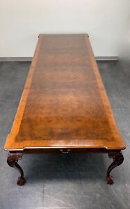 Henredon Rittenhouse Square Mahogany Chippendale Ball In Claw Dining Table