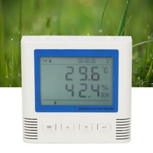 20 60 c Temperature Humidity Recorder Lcd Usb Large Screen Wide Viewing Angle