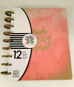 The Happy Planner Undated Blush Pink Make Today Great Vertical 12 Months Mambi