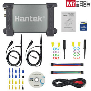 Hantek 6022bl Usb Pc Portable Oscilloscope Digital Logic Analyzer 16ch 48msa s