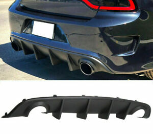 Fits 15 20 Dodge Charger Srt Rear Lip Bumper Valance Diffuser Pp Oe Style