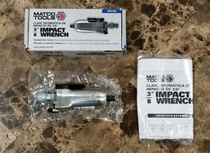 New Matco Tools Mt2734 Mini Handheld 3 8 Drive Butterfly Air Gun Impact Wrench
