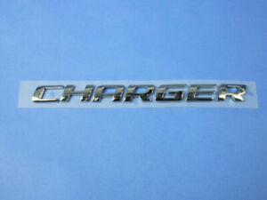 Dodge Charger Trunk Nameplate Emblem 2006 2010 New Oem 4806234aa