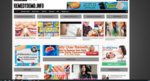 Remedy Guides Affiliate Product Website 100 Automated premium Designed
