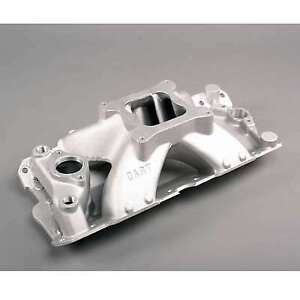 Dart Sbc Intake Manifold 4150 Flange Use W Iron Head 42411000