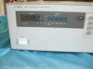 Hp Agilent 6625a Precision System Power Supply 25w Or 50w 2 Outputs test Equip