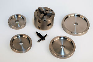 Double Quick Chuck 3 Jaw Brake Lathe Adpater Hubless Drums Rotors