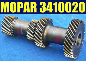 Nos Mopar 3410020 Transmission Cluster Gear 1972 1975 A230 3 Speed Manual