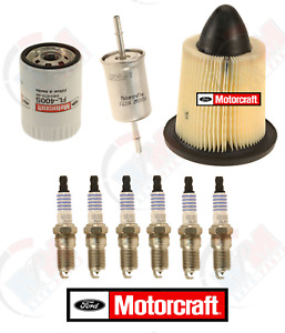 Motorcraft Filter Tune up Kit W Platinum Plugs For 1998 2004 Ford Mustang 3 8l