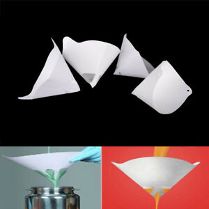 10x 100 120 140 200 Paper Nylon Paint Strainer Filter Straining Cup Fp