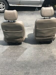 Jeep Grand Cherokee Oem Leather Seats