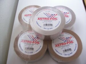 Lot Of 5 Aluminum Foil Tape 2 X 150 Hvac Heating A c Duct Seal High Temp