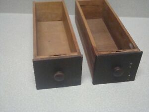 Lot Of 2 Vintage Parts 1922 Model 127 Singer Treadle Sewing Machine Drawers
