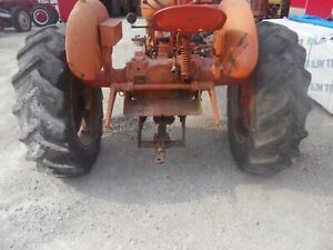 Allis Chalmers Wd Wd45 45 Tractor Ac Spin Out Rims Rims 13 6 X28 Goodyear Tires