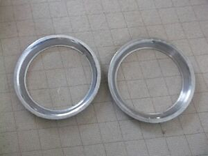 1974 1978 Mustang Ii 13 Inch Styled Wheel Beauty Trim Rings Pinto Pair 1976 77