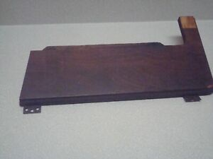 Vintage Singer Sewing Machine Parts 1922 Fold Out Wooden Lid With Hinges