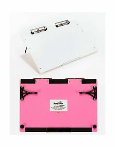 Visual Edge Slant Board pink A Sloped Work Surface For Writing Reading A