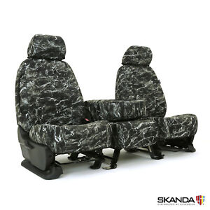 Skanda Mossy Oak Elements Blacktip Custom Fit Seat Covers For Chevy Silverado
