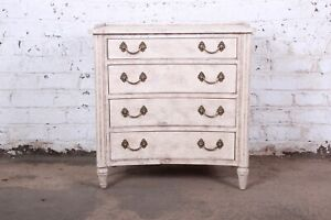 Councill Furniture Neoclassical Four Drawer Bachelor Chest
