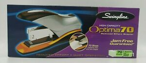 Swingline High Capacity Optima 70 Reduced Effort Stapler 70 Sheet Capacity