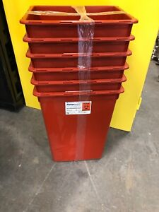 Sharps Container Fisherbrand 10 Gallon 6 Containers