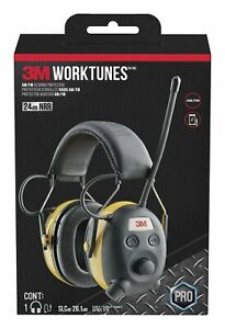3m Worktunes Hearing Protector With Am fm Radio Am fm Hearing Protector