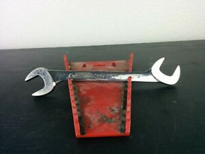Ad787 Snap On Vs32b 1 Sae Four Way Angle Head Open End Wrench