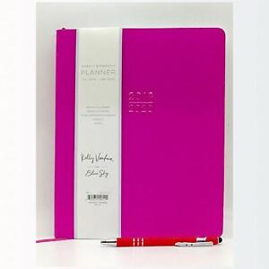 July 2019 June 2020 Academic Weekly Monthly Planner 8 5 X 10 Soft Faux Leathe