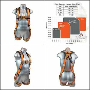 Roof Safety Harness Tree Climbing Fall Protection Construction Tool D Ring Strap