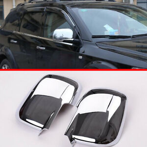 For Dodge Journey 2013 2018 Abs Chrome Side Mirror Cover Trim