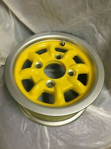 Minilite Alloy Original Austin Mini Wheels 4 5x10