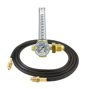 Victor Flowmeter Regulator Gauge For Argon co2 For Tig And Mig Welding