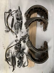 Alfa Romeo Giulietta Sprint Spider Front Brake Shoes Cylinders Lines Assemblies