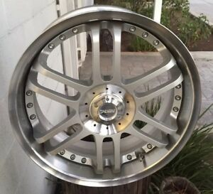 New Racing Hart M6 2 Pc 18x 7 5 Et44 4 100 4 114 3 Silver Jdm Set Of 4 Wheels
