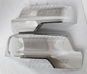 Chrome Clip On Replacement Mirror Covers For 2019 2020 Dodge Ram 1500 All New