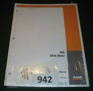 Case 465 Skid Steer Loader Parts Manual Book Catalog