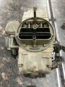 1965 Chevelle Impala 396 Big Block Holley 3310 Carburetor 780cfm 3878261 Eh 073