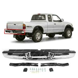 Rear Bumper Chrome 1995 1997 1998 1999 2000 2001 2002 2003 2004 Toyota Tacoma