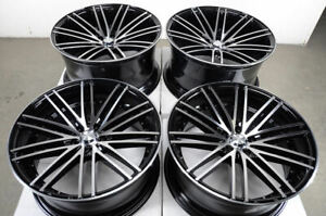 19x8 5 19x9 5 5x112 Staggered Wheels Fits Mercedes Benz C350 S350 S430 S550 Rims
