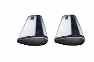 New Thule Arb43 Aeroblade Load Bars Silver 43