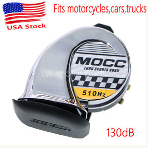 Motorcycle Chrome Loud Horn For Harley Davidson Electra Road Street Glide King