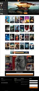 Fully Automated Movie Directory Website Killer Responsive Design