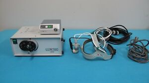 Luxtec Ultralite Surgical Headlight Camera System W Light Source